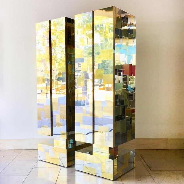 Pair of Totem Cityscape Cabinets by Paul Evans 1970s For Sale - Image 12 of 12