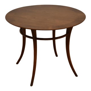 t.h. Robsjohn Gibbings for Widdicomb Round End Table For Sale