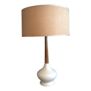1960s Vintage Danish Modern Teak Lamp