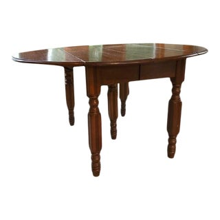 Chestnut 5th Leg Dining Table For Sale