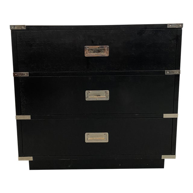 Lexington Furniture Black Chest of Drawers For Sale