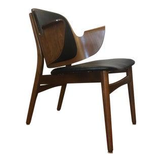 Hans Olsen for Bramin Møbler Bentwood Chair For Sale