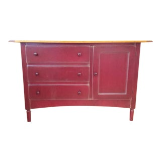 Grange Shaker Cherry Wood Sideboard For Sale