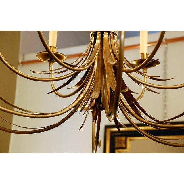 Maison Charles et Fils 1960s Maison Charles Large French Chandelier For Sale - Image 4 of 9