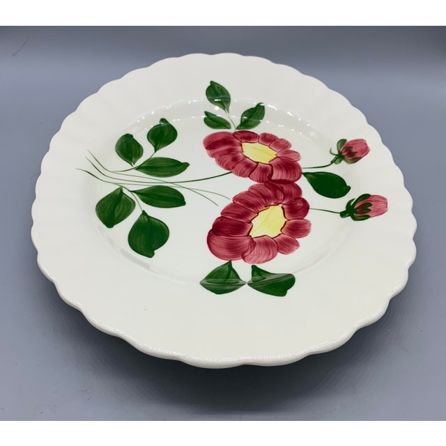Blue Ridge Southern Pottery Mirror Image Platter For Sale - Image 9 of 10