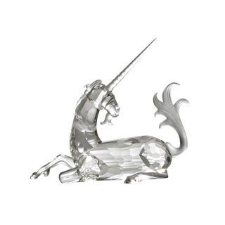 Vintage Swarovski Crystal Collectible Scs Unicorn Annual Figurine For Sale