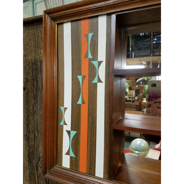 Turner Mid-Century Modern Hanging Shadowbox Shelf - Image 4 of 6