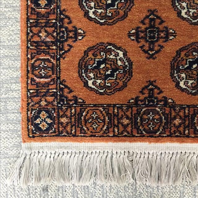 """Orange Karastan Wool Rug - 2'2"""" x 4'8"""" - Image 3 of 6"""