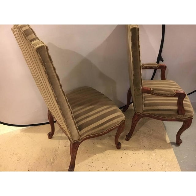 Fabric 1960s Harden Dining Room Chairs - Set of 10 For Sale - Image 7 of 10