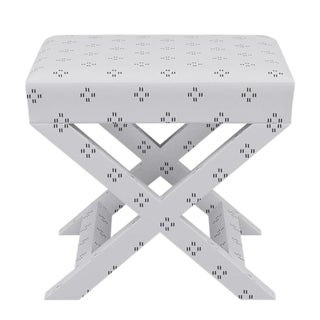 X Bench in Grey Faro For Sale