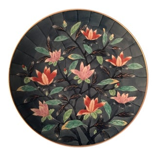 Vintage Japanese Charger Plate, Signed For Sale