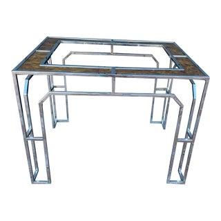 Vintage Milo Baughman Side Table For Sale
