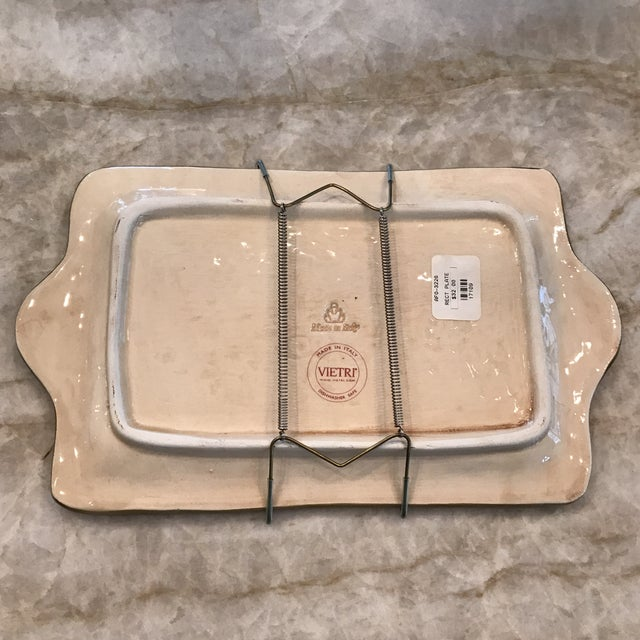 Authentic Vietri Fruit Plate For Sale - Image 4 of 8