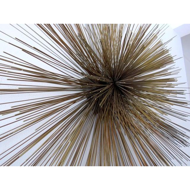 Metal Large Curtis Jere Spoke Pom Pom Wall Sculpture For Sale - Image 7 of 9