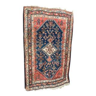 Vintage Sarouk Rug - 2′7″ × 4′2″