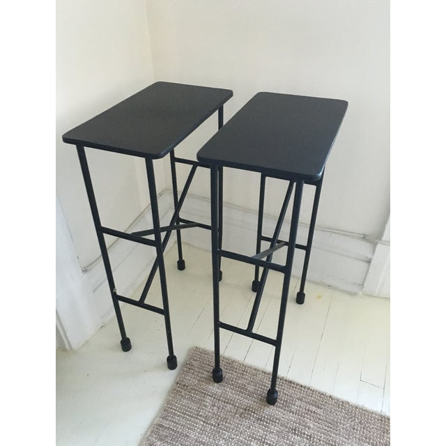 Pottery Barn Zane Accent Tables - A Pair - Image 2 of 9