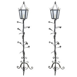 Image of Wrought Iron Lanterns