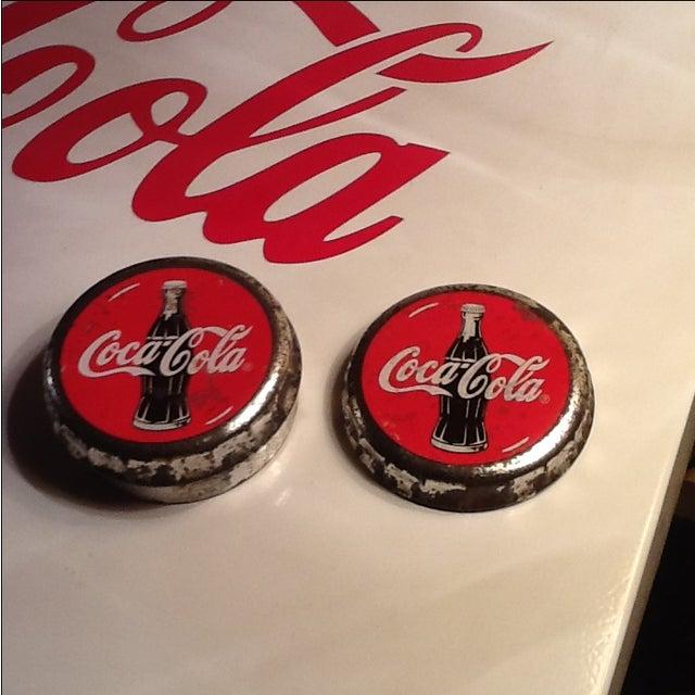 Vintage Coca Cola Cap Tin - Image 5 of 10