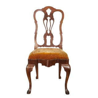Queen Ann Style Side Chair For Sale