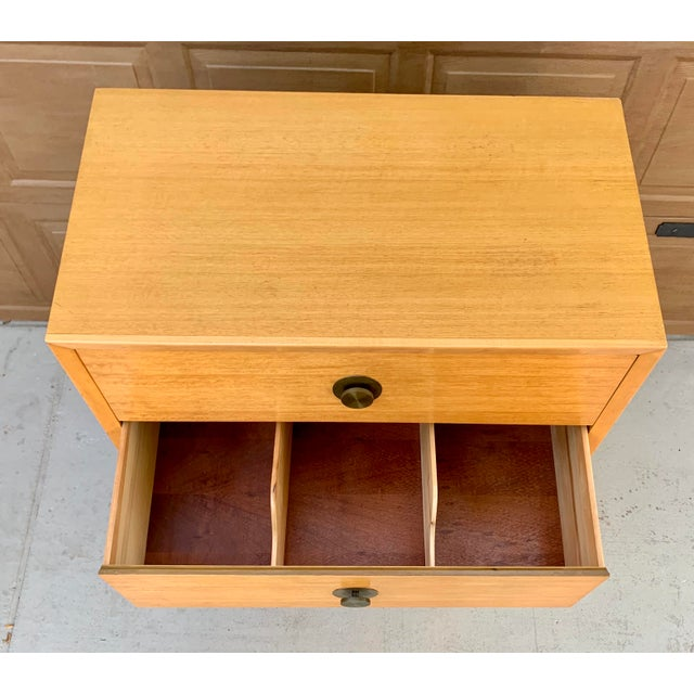 1960's Vintage Thomasville Dresser and Nightstand - a Pair For Sale - Image 9 of 11
