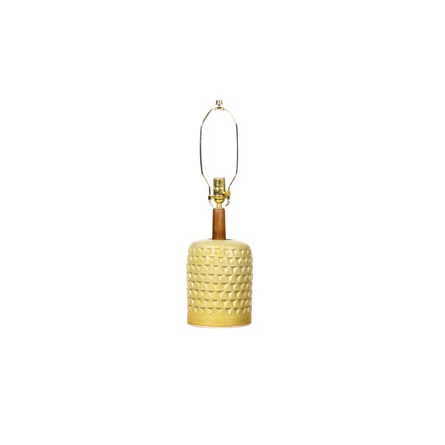 Christian Boehr Ceramic Stoneware Table Lamp For Sale