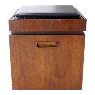 1960s Vintage Flip Sides Checker Game Bench For Sale