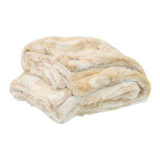 Baby Bear Faux Fur Minky Throw For Sale