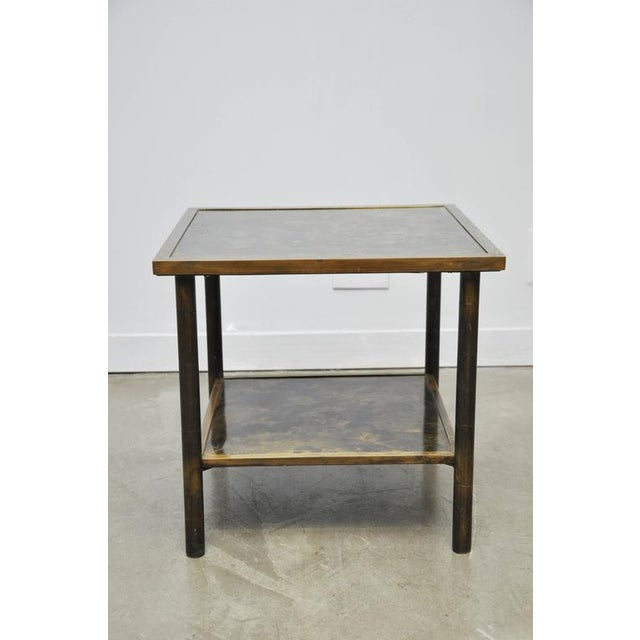 Philip and Kelvin LaVerne Bronze Side Table - Image 5 of 6