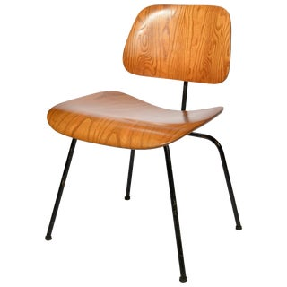 Early Charles & Ray Eames for Herman Miller Dcm Chair in Oak, 1953 For Sale