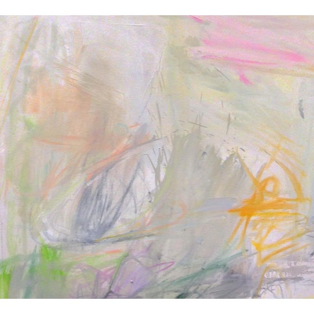 """""""Sydney Sunrise"""" is an intoxicatingly soft and ethereal abstract expressionist oil painting on canvas by Chairish """"Super-..."""