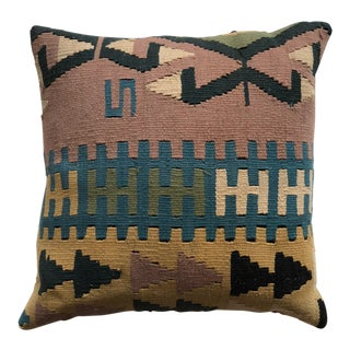 Mid 20th Century Turkish Kilim Pillow - Large