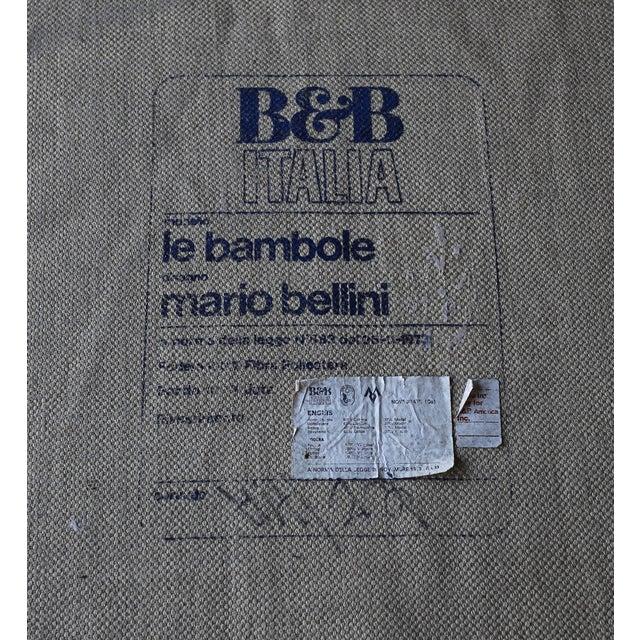 """Mario Bellini """"Le Bambole"""" Ottomans for B&b Italia, Circa 1985 - a Pair For Sale - Image 12 of 13"""