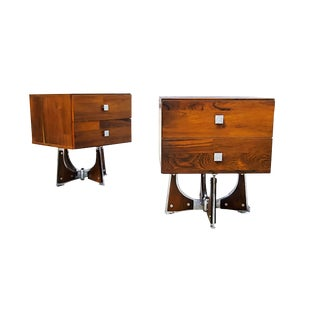 1960s Mid-Century Modern Nightstands - a Pair For Sale