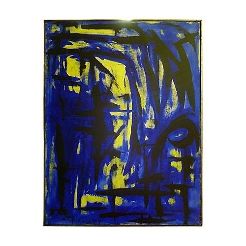 Blue & Yellow by Bert Miripolsky For Sale