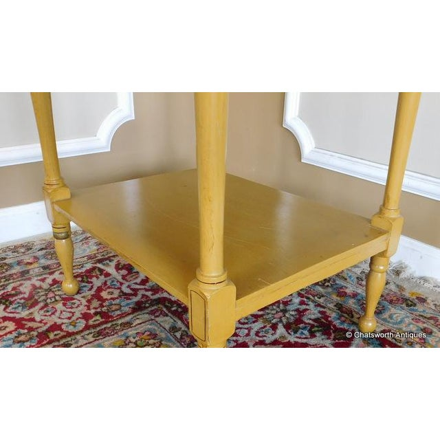 Sheraton 19 C. Painted Country Washstand Table - Image 9 of 9