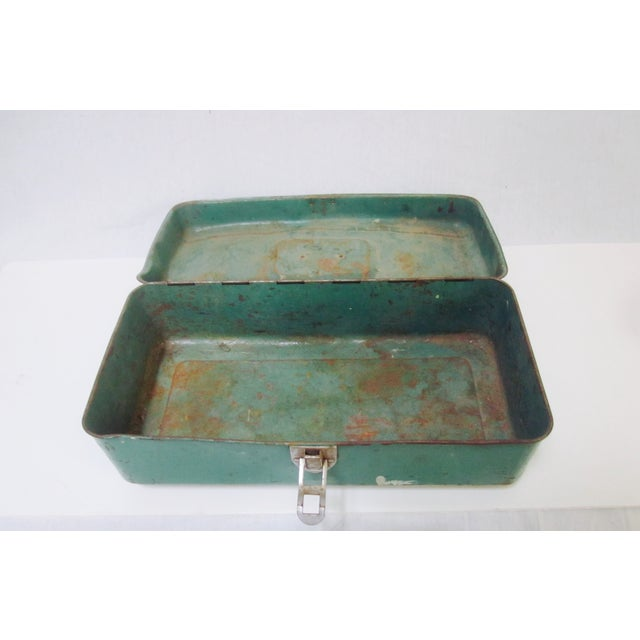 Green Liberty NY Metal Chest - Image 5 of 11