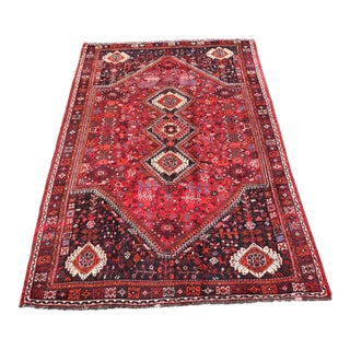 Vintage Persian Traditional Rug For Sale