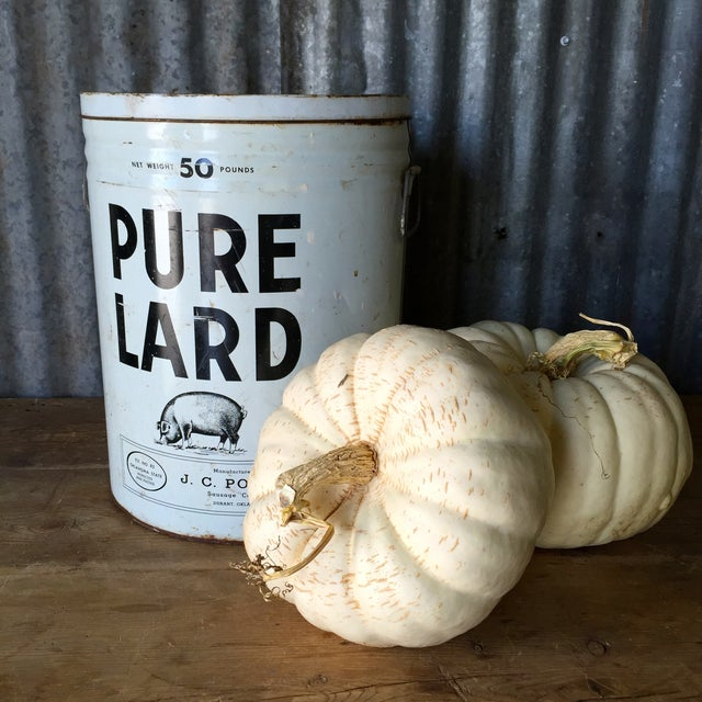 Vintage Lard Container From Oklahoma For Sale - Image 4 of 11