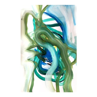 Day 117 Jessalin Beutler Original Painting on Paper For Sale