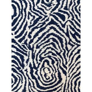 Quadrille Alan Campbell Meloire Reverse Suncloth Fabric For Sale