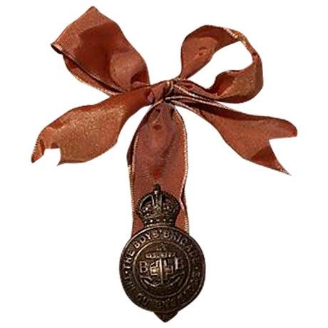 Vintage English Boy Brigade Badge Ornament - Image 1 of 3