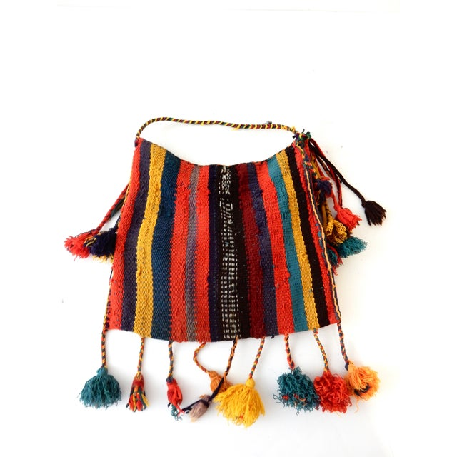 Moroccan Tribal Dry Flowers Bag - Image 4 of 4