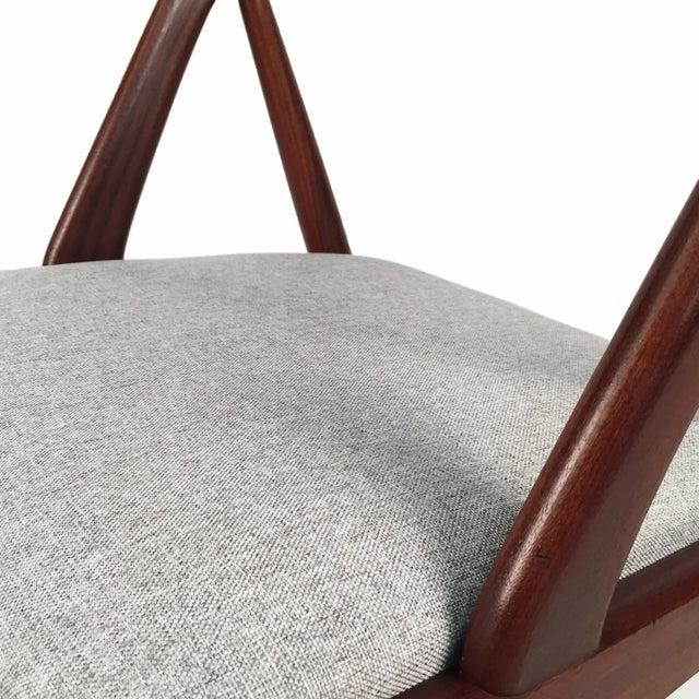 Vintage Danish Kai Kristiansen Model #31 Teak Dining Chairs - Set of 4 - Image 7 of 9