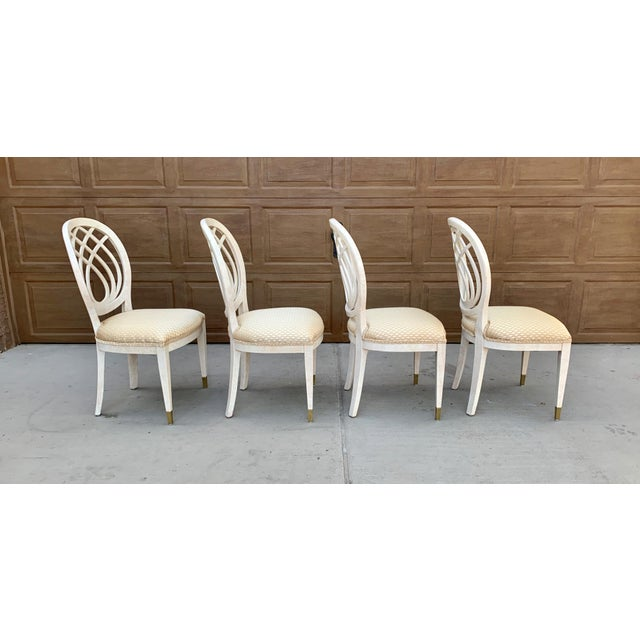 Henredon 1990's Henredon Side Chairs - Set of 2 For Sale - Image 4 of 13