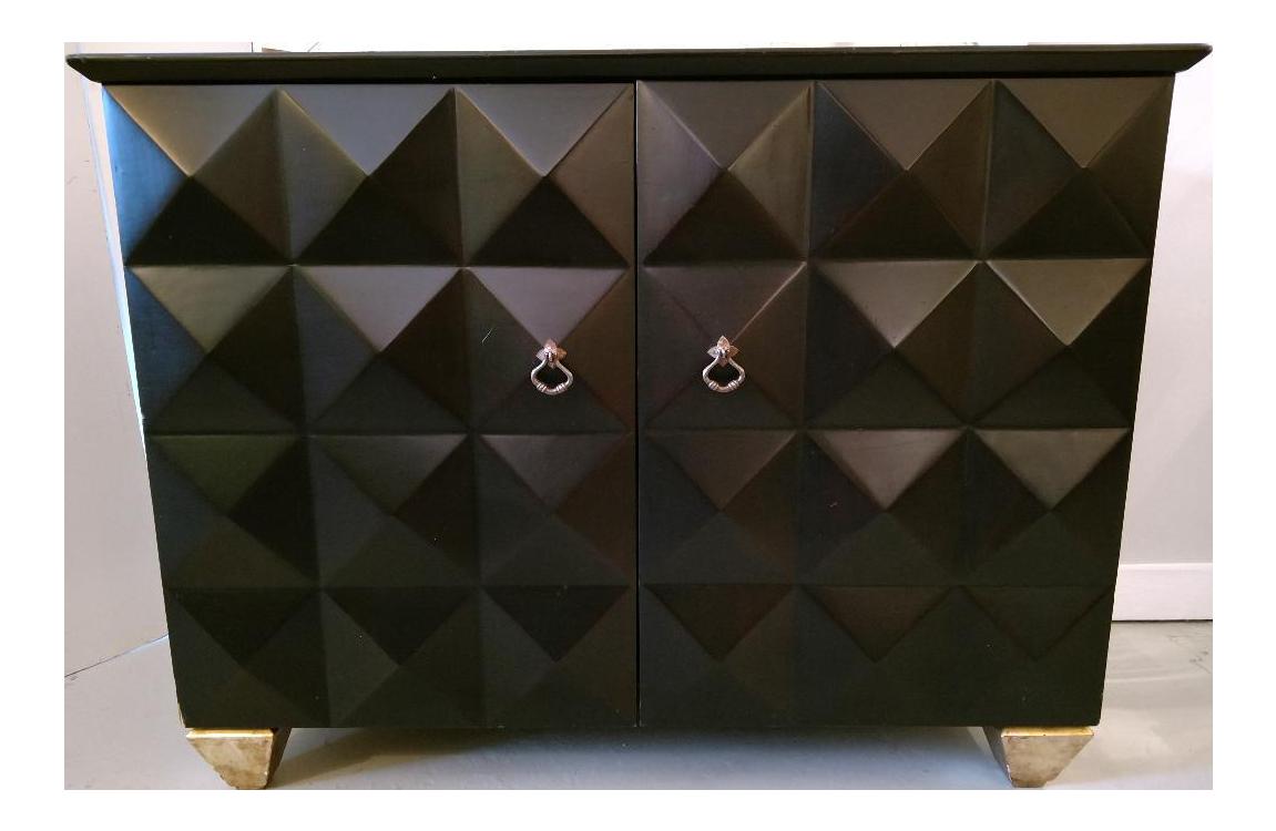 Superbe Vintage Barbara Barry Styled Cabinet   Image 1 Of 10
