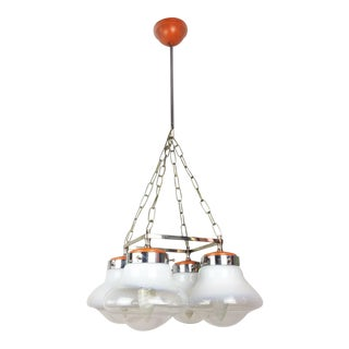 Italian Vintage Space Age Mid-Century Modern Ceiling Pendant Lamp For Sale