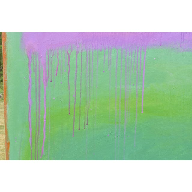 """2010s Contemporary Abstract Painting """"Weeping Cherry"""" by Stephen Remick For Sale - Image 5 of 13"""