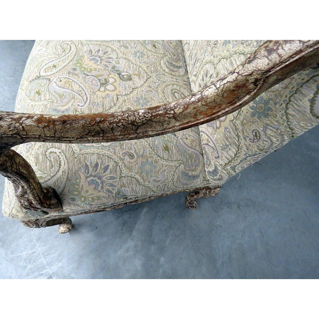 Textile Louis XV Style Tapestry Armchairs - a Pair For Sale - Image 7 of 12
