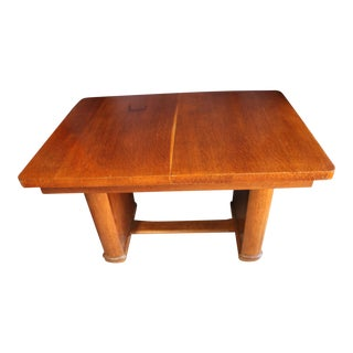 Art Deco Extension Dining Table For Sale