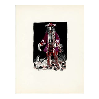 """""""People of Versailles"""", Limited Edition Serigraph Circa 1952 (3) For Sale"""